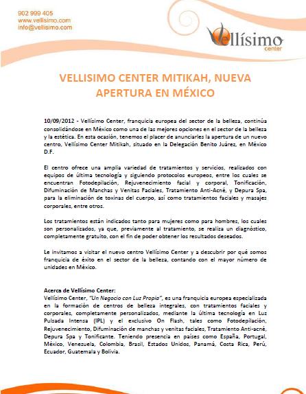 Vellísimo Center | FERIA INTERNACIONAL DE FRANQUICIAS | Página 2